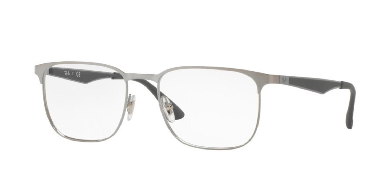 830e30fbfdb Lyst - Ray-Ban Eyeglasses Optical Rx 6363 2553 Gunmetal Top On ...