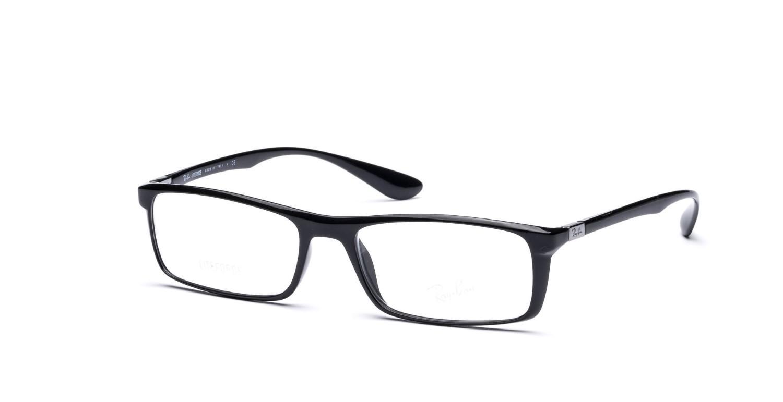 2e1c9b3653 Lyst - Ray-Ban Optical 0rx7035 5206 54 Black Tech Eyeglasses in Black