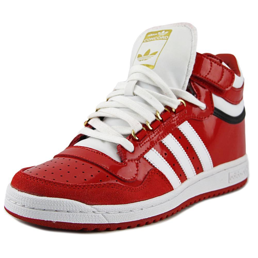 cheap for discount 39711 97318 Lyst - adidas Concord 2.0 Mid Men Round Toe Patent Leather R