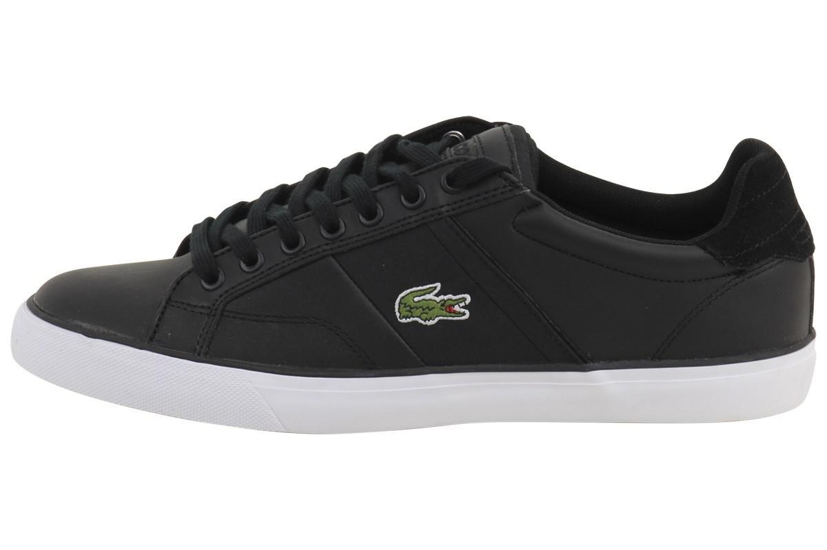 ea0a50b860881b Lacoste - Black Fairlead 316 1 Sneakers Shoes for Men - Lyst. View  fullscreen