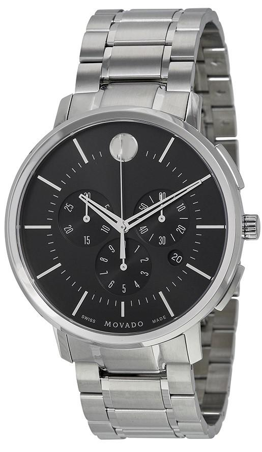 a2ff0d821 Lyst - Movado Tc Ultra-thin Chronograph Mens Watch 0606886 for Men