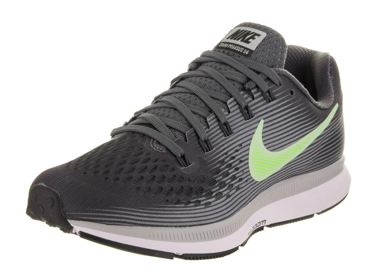 Lyst - Nike Air Zoom Pegasus 34 Dark Grey barely Volt Running Shoe 6 ... ffbaae1ad1b9