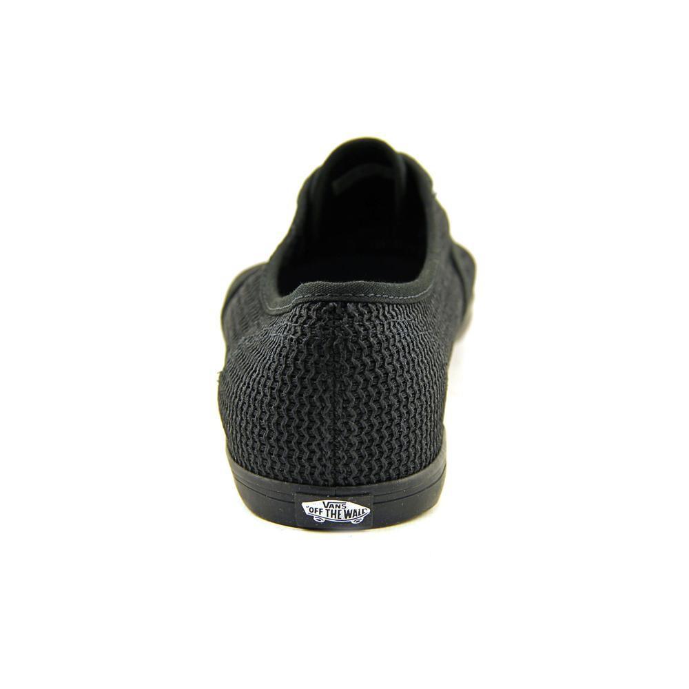 9f238396ed Lyst - Vans Unisex Ynez Binding Sneakers Black M7.5 W9 in Black