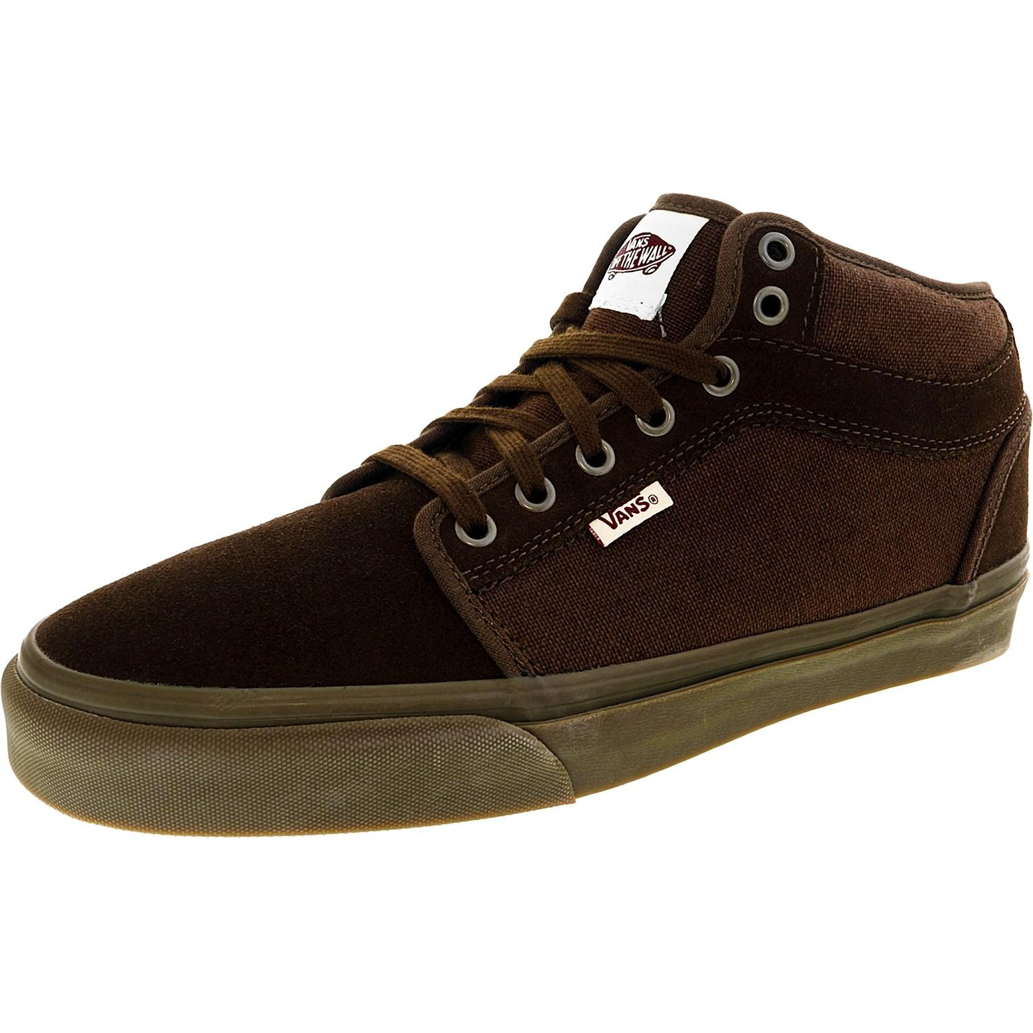 f7d3197dae Lyst - Vans Chukka Midtop Brown   Gum Ankle-high Suede Fashion ...