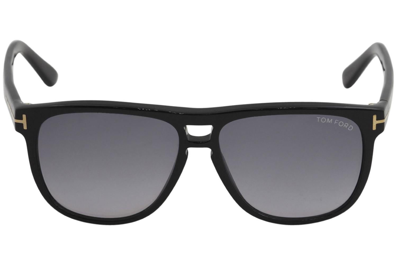 2ea259d7b9 Lyst - Tom Ford Lennon Tf288 Tf 288 01n Black Fashion Pilot ...