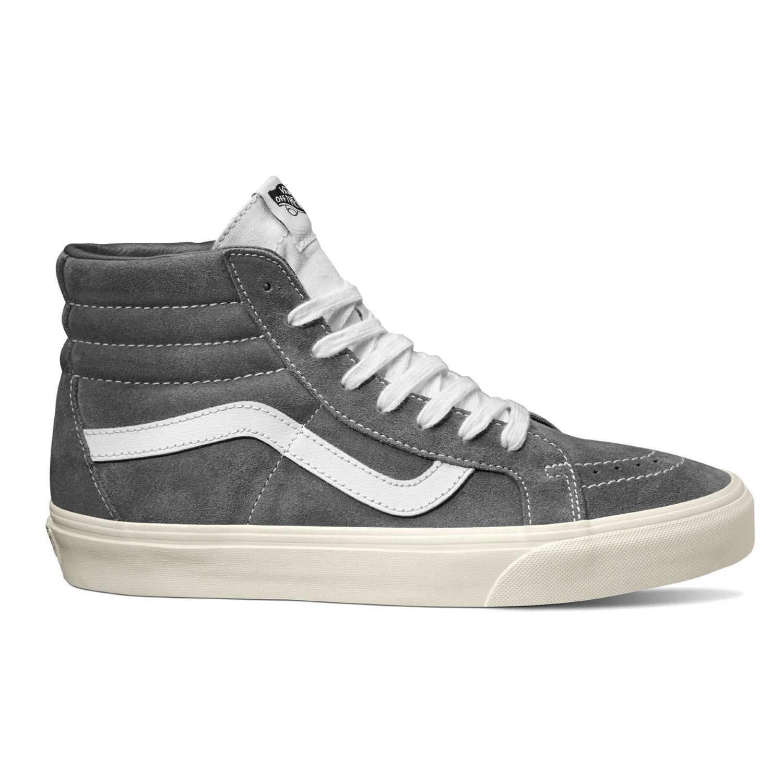 e8cf33fa71 Lyst - Vans Unisex Sk8-hi Reissue (retro Sport) Gunmetal Skate Shoe ...