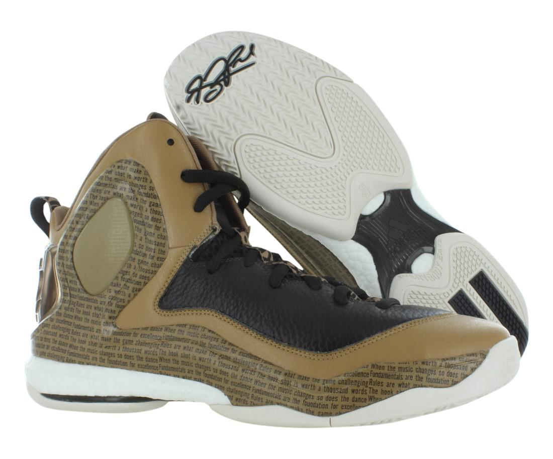 finest selection 56ef3 1ebd6 Lyst - adidas Asp D Rose 5 Boost Bhm (black History Month) Shoes ...