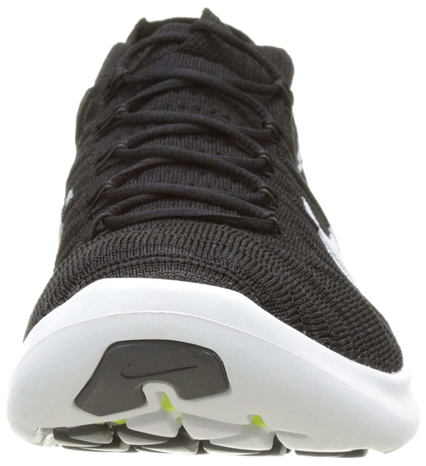 634a5491fd7 Lyst - Nike Free Rn Motion Flyknit Running Shoes-black white-volt-12 ...