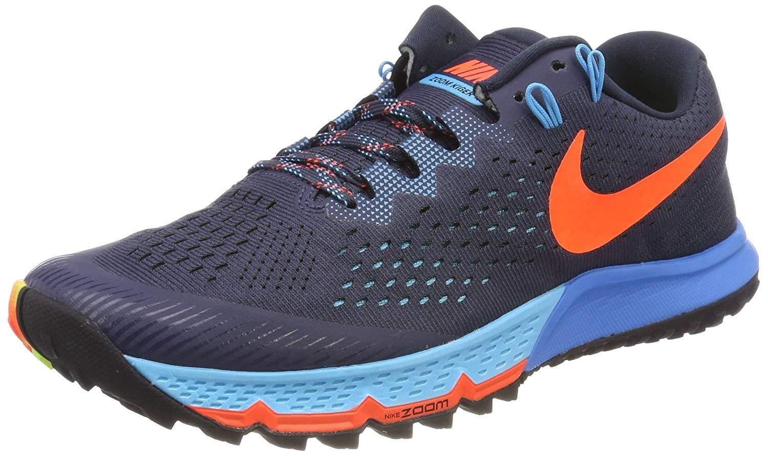 a9c20e6fa8a792 Lyst - Nike Air Zoom Terra Kiger 4 Running Shoe in Blue for Men