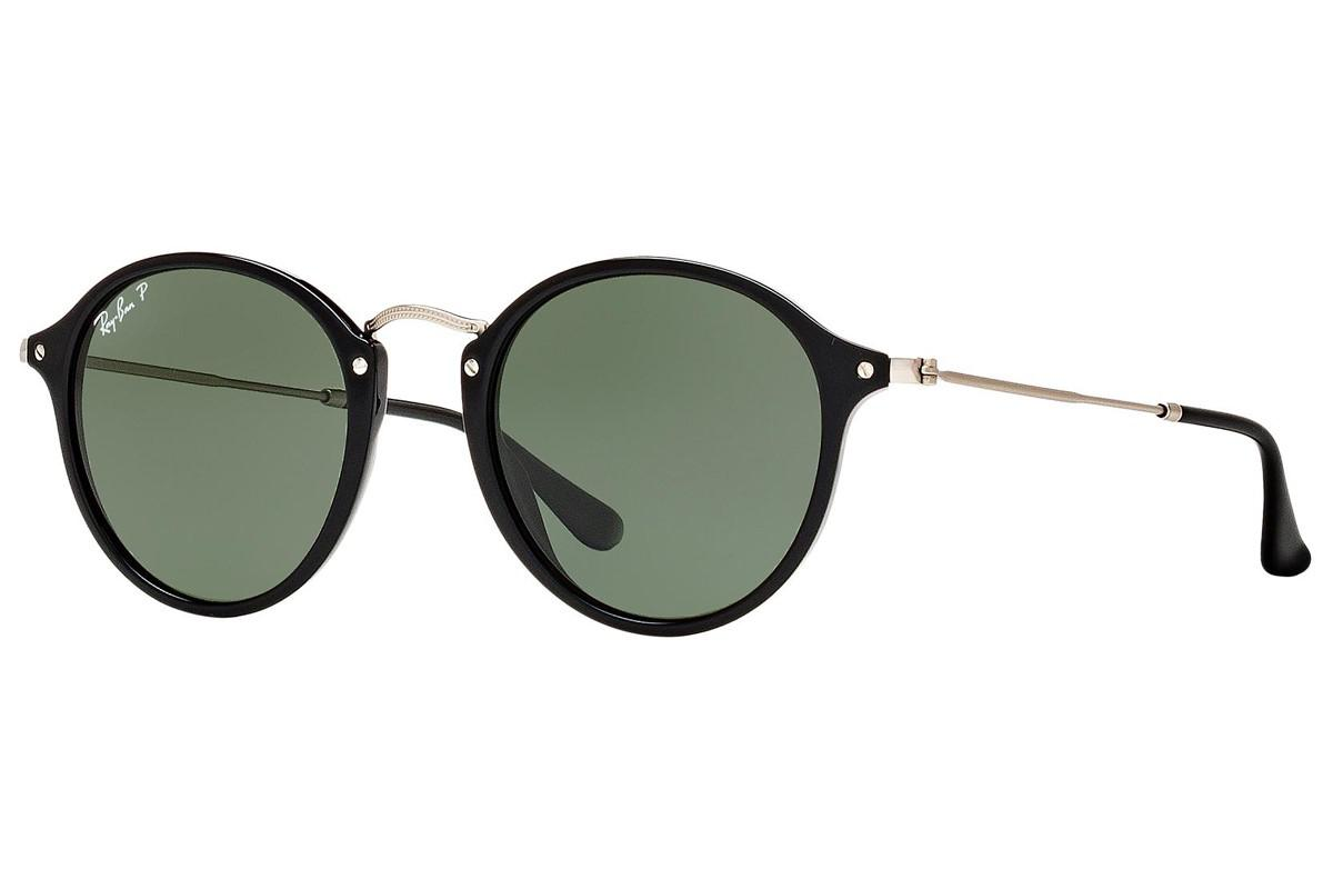c5929d3627 Lyst - Ray-Ban 0rb2447f 901 58 52 Black green Polarized Icons ...