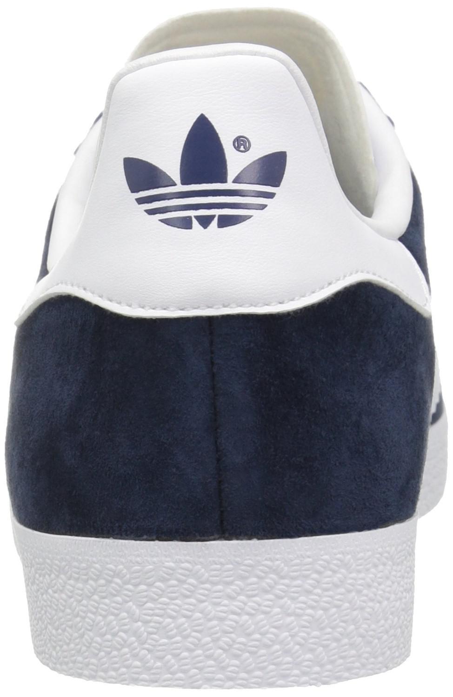 new arrival 91f41 c623d Lyst - Adidas Gazelle Originals Conavywhitegoldmt Casual Sho