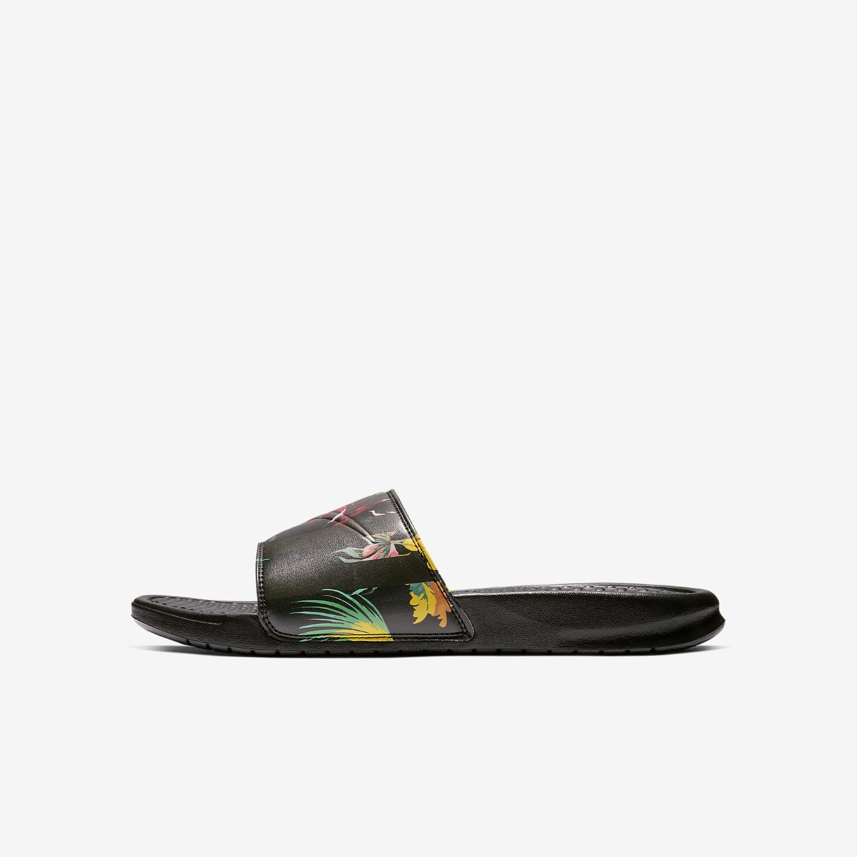 9421497833fa Lyst - Nike Benassi  just Do It.  Print Slide in Black for Men