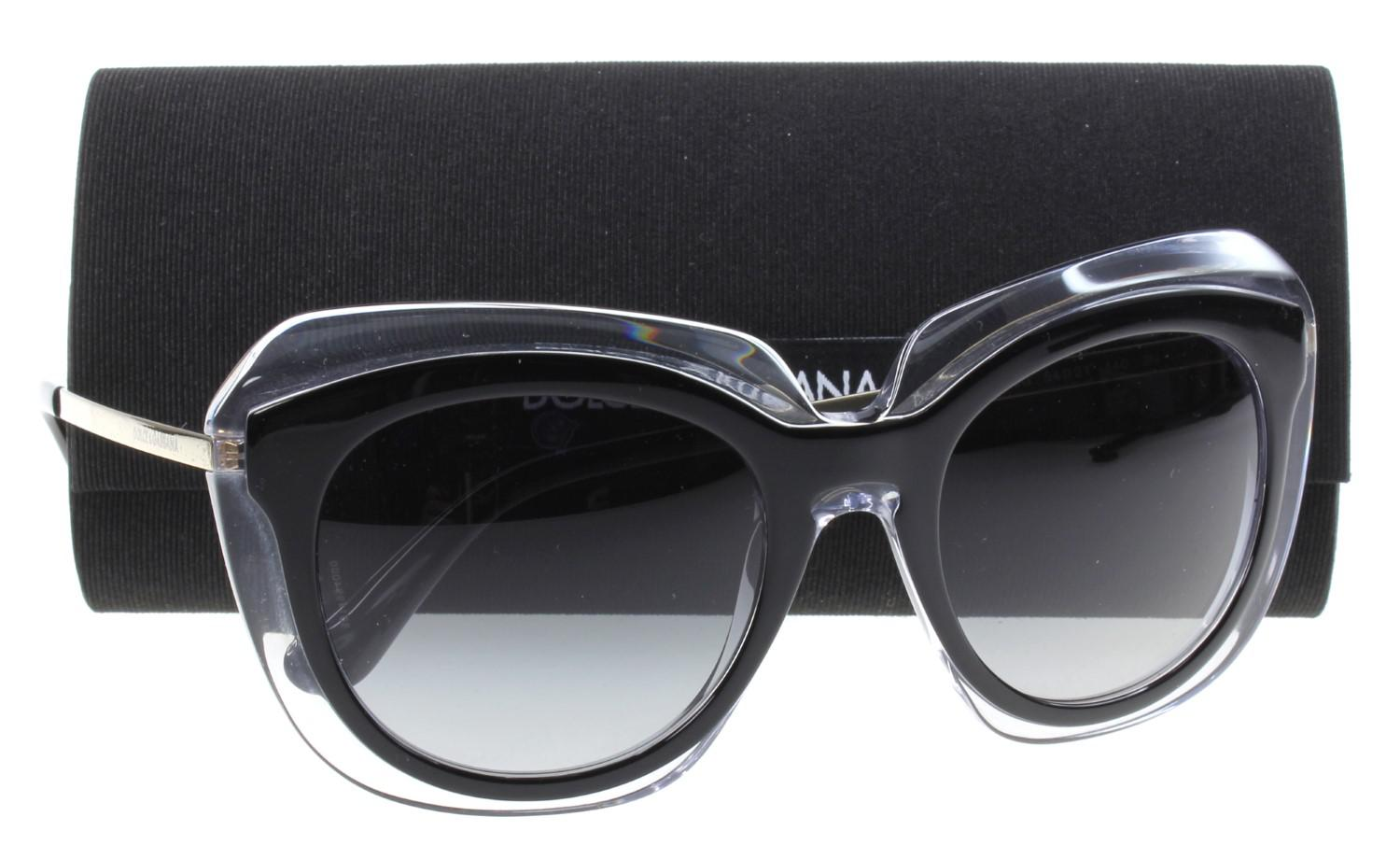 0e17cd4bcf Lyst - Dolce & Gabbana D&g 0dg4282 Round Sunglasses in Black
