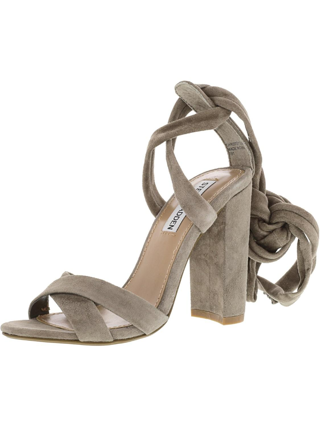 bcc1ac1d3a6 Lyst - Steve Madden Christey Suede Ankle-high Pump - 5.5m
