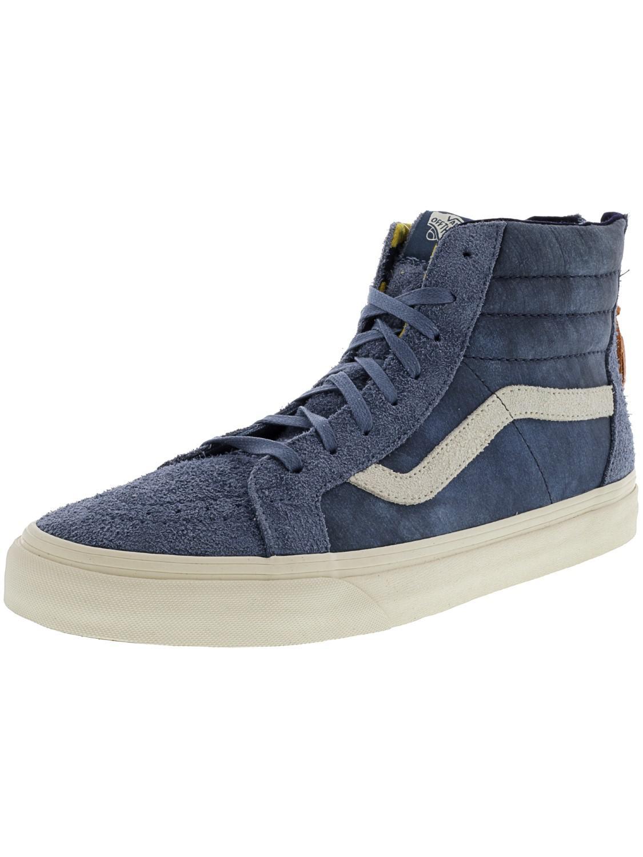 684149b57336b6 Lyst - Vans Sk8-hi Zip Dx Varsity High-top Skateboarding Shoe - 11m ...