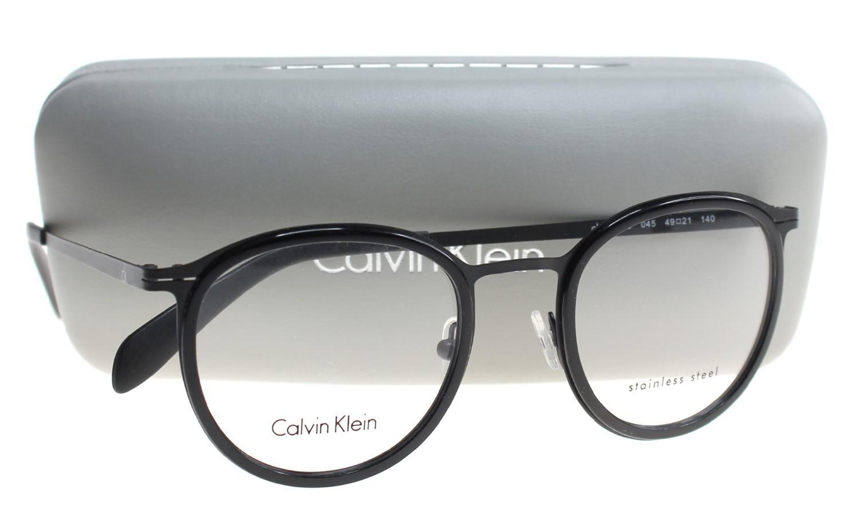 7370881738 Lyst - Calvin Klein Eyeglasses Ck 5415 045 Charcoal
