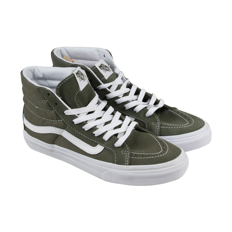 863266880173 Lyst - Vans Sk8 Hi Slim Grape Leaf True White Mens High Top Sneakers ...