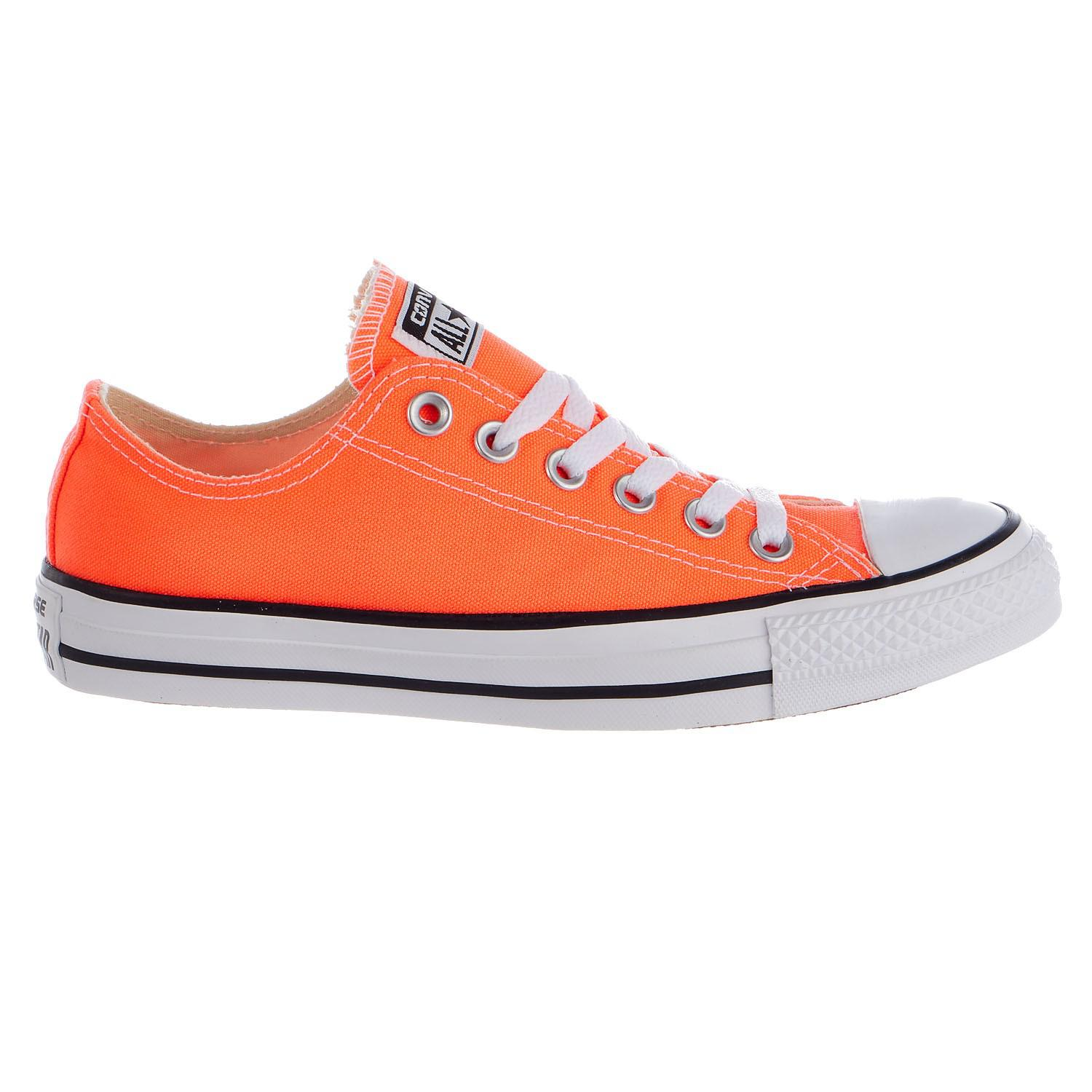 65481b621d2b Lyst - Converse Cap-toe Lace-up Sneakers in Orange for Men