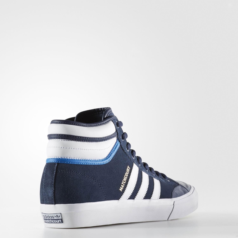 best loved 188a4 c31f8 Lyst - Adidas Matchcourt High Rx2 Skate Shoe 9.5 Us in Blue