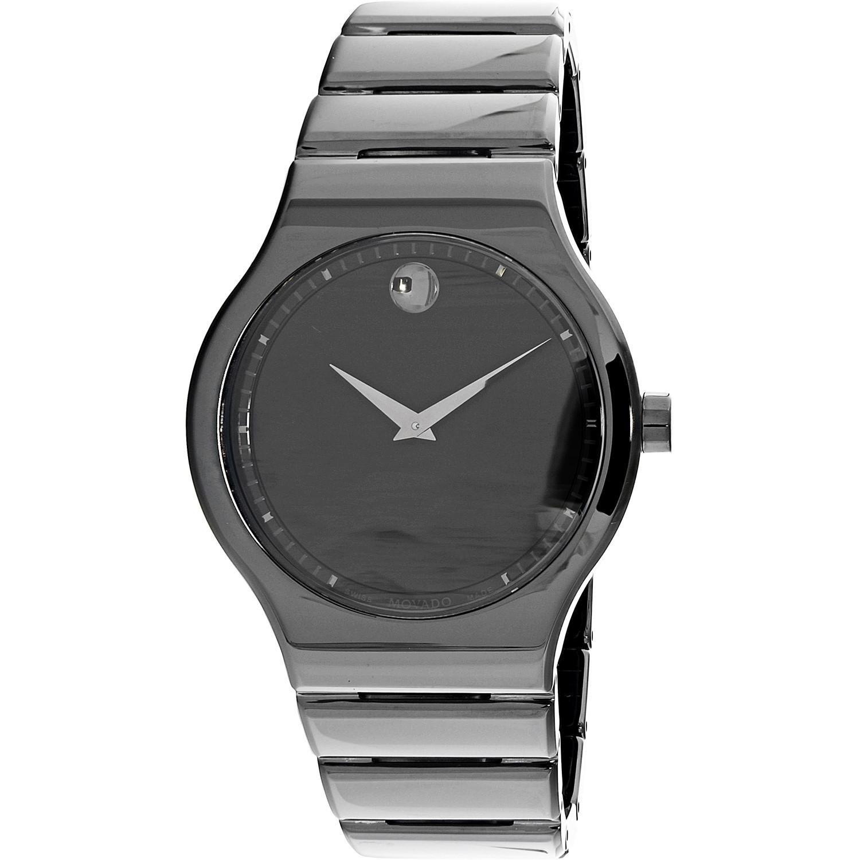 eaea26fb5 Movado Cerami Black Dial Ceramic Watch 0607047 in Black for Men - Lyst