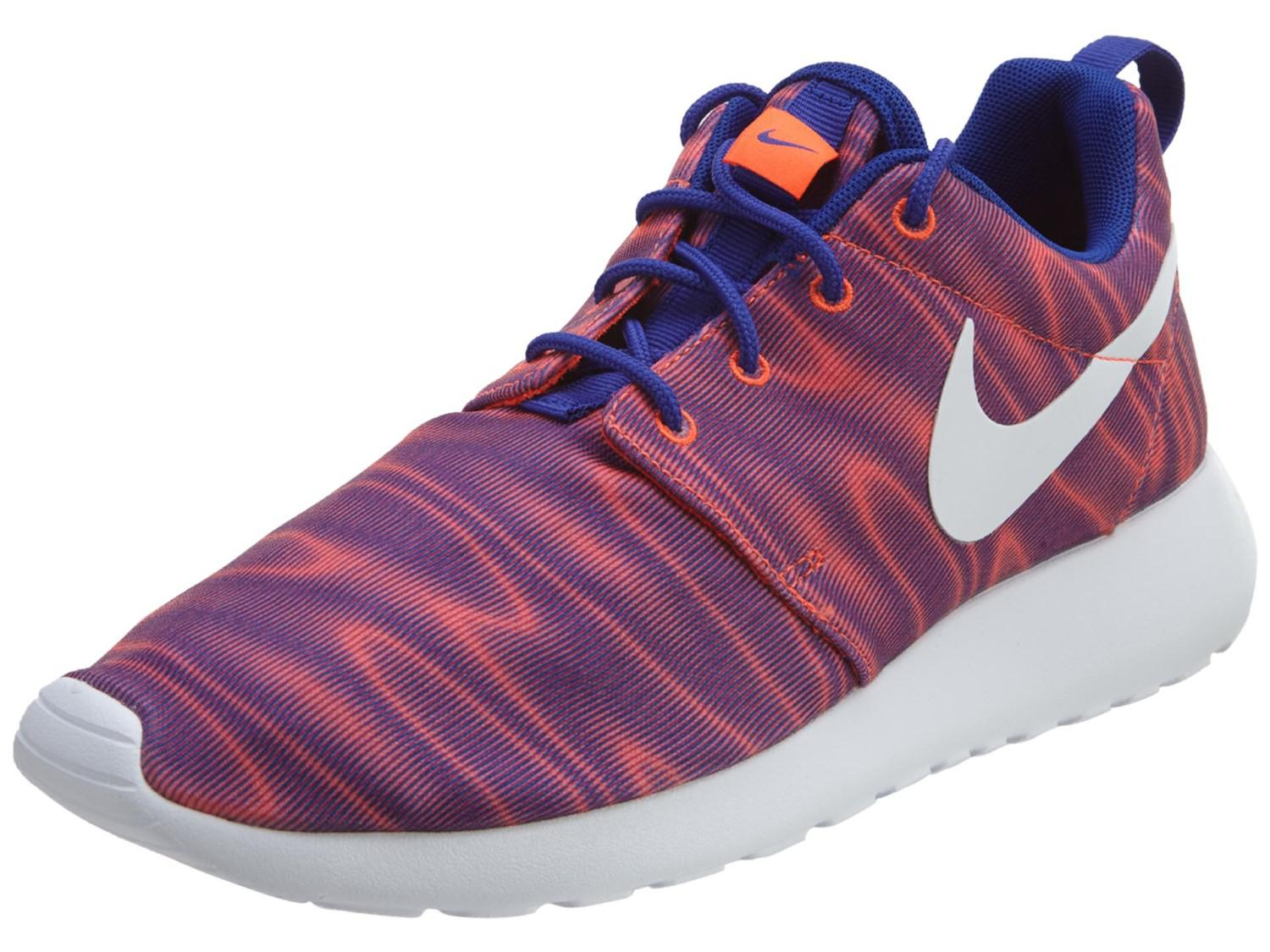 Lyst Nike Roshe One Print Casual Shoes in Purple