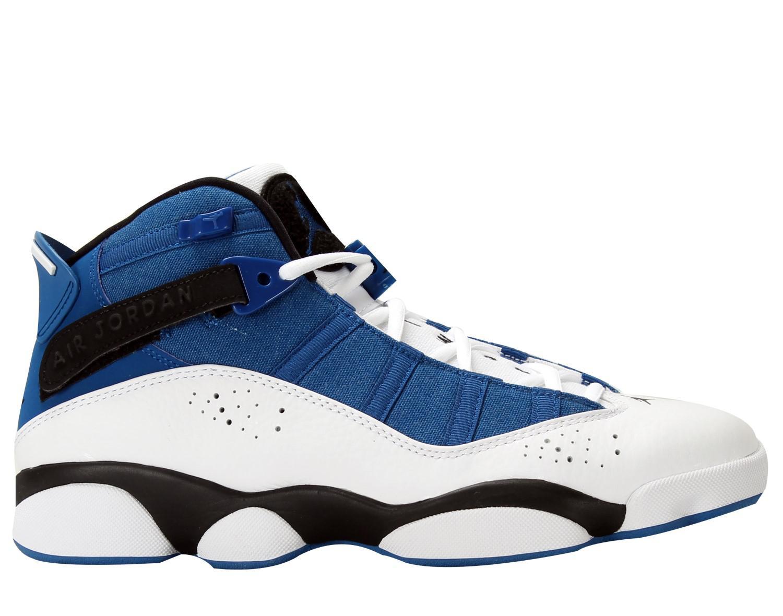d751670d3f29 Lyst - Nike Mens Jordan 6 Rings Royal black-white 322992-400 Size 13 ...