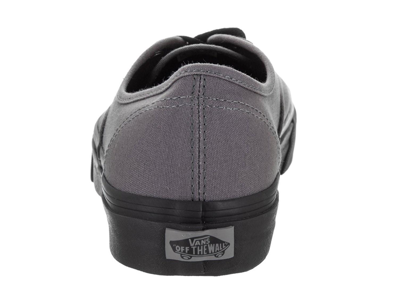 Lyst - Vans Authentic Pop Outsole Pewter Black Mens Lace Up Sneakers ... 237c79354