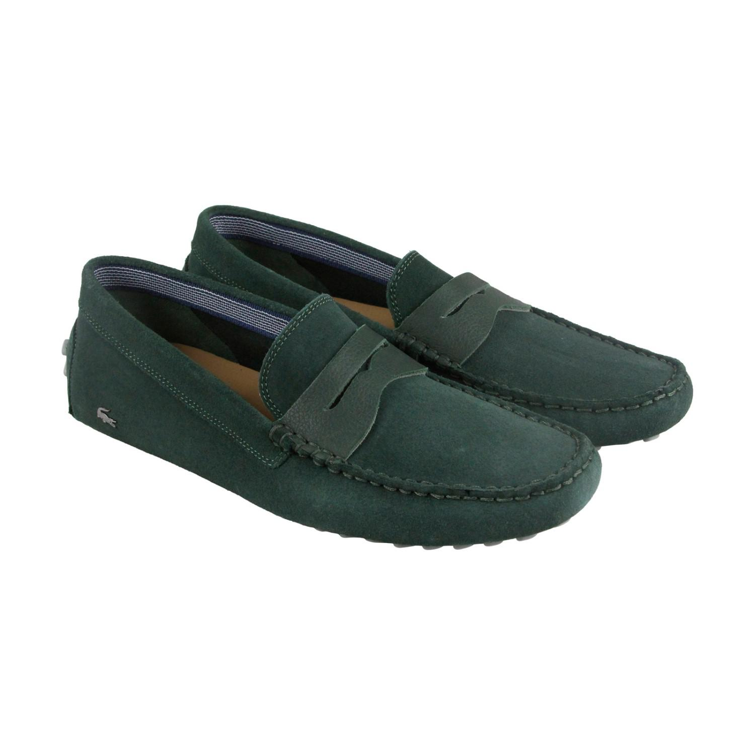 e451ec8a28f793 Lyst - Lacoste Concours 18 Srm Green Mens Casual Dress Loafers in ...