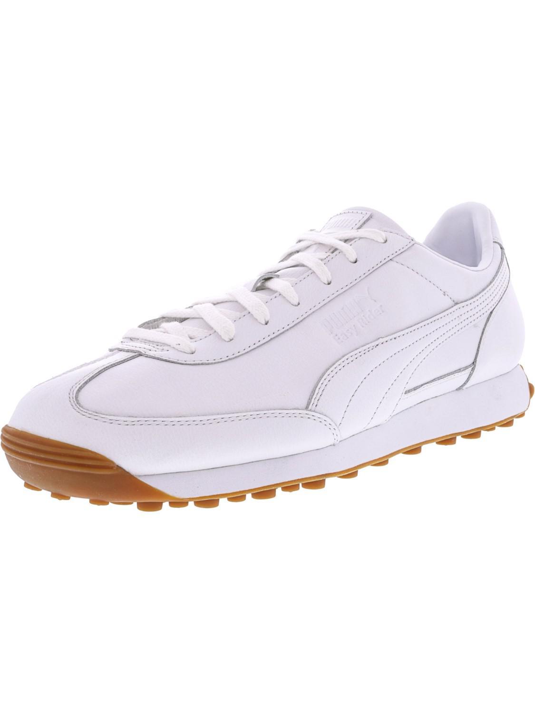 Lyst Puma Easy Rider Premium White White Ankle high