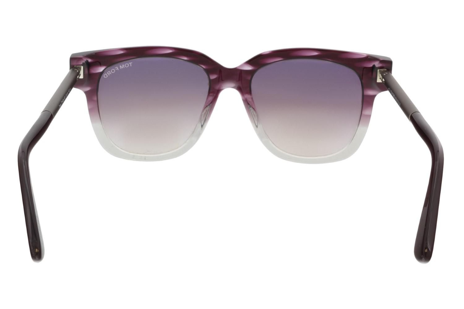 fa0cae970b9f Lyst - Tom Ford Sunglasses Tracy Tf 436 Ft 83t Violet other ...