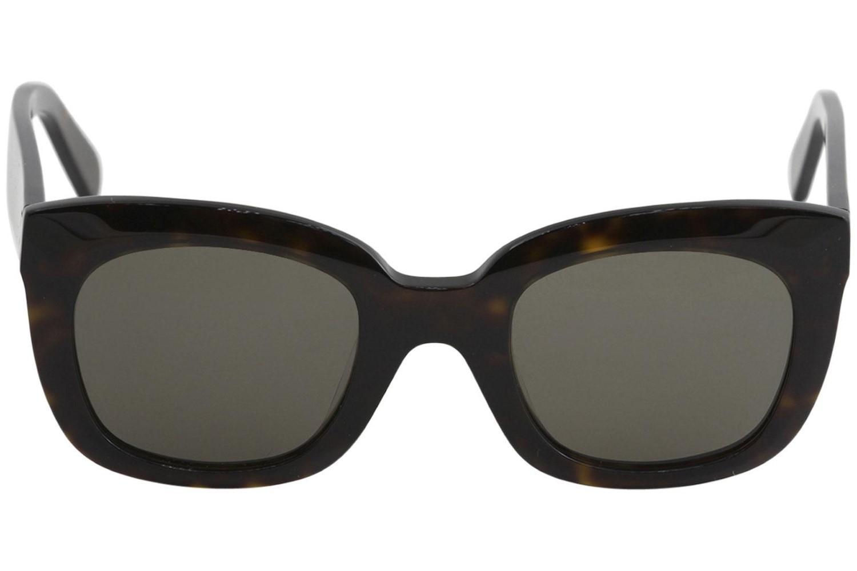 c05ea14df9 Lyst - Céline Sunglasses 41385 f s 0086 Dark Havana   70 Lens in Brown