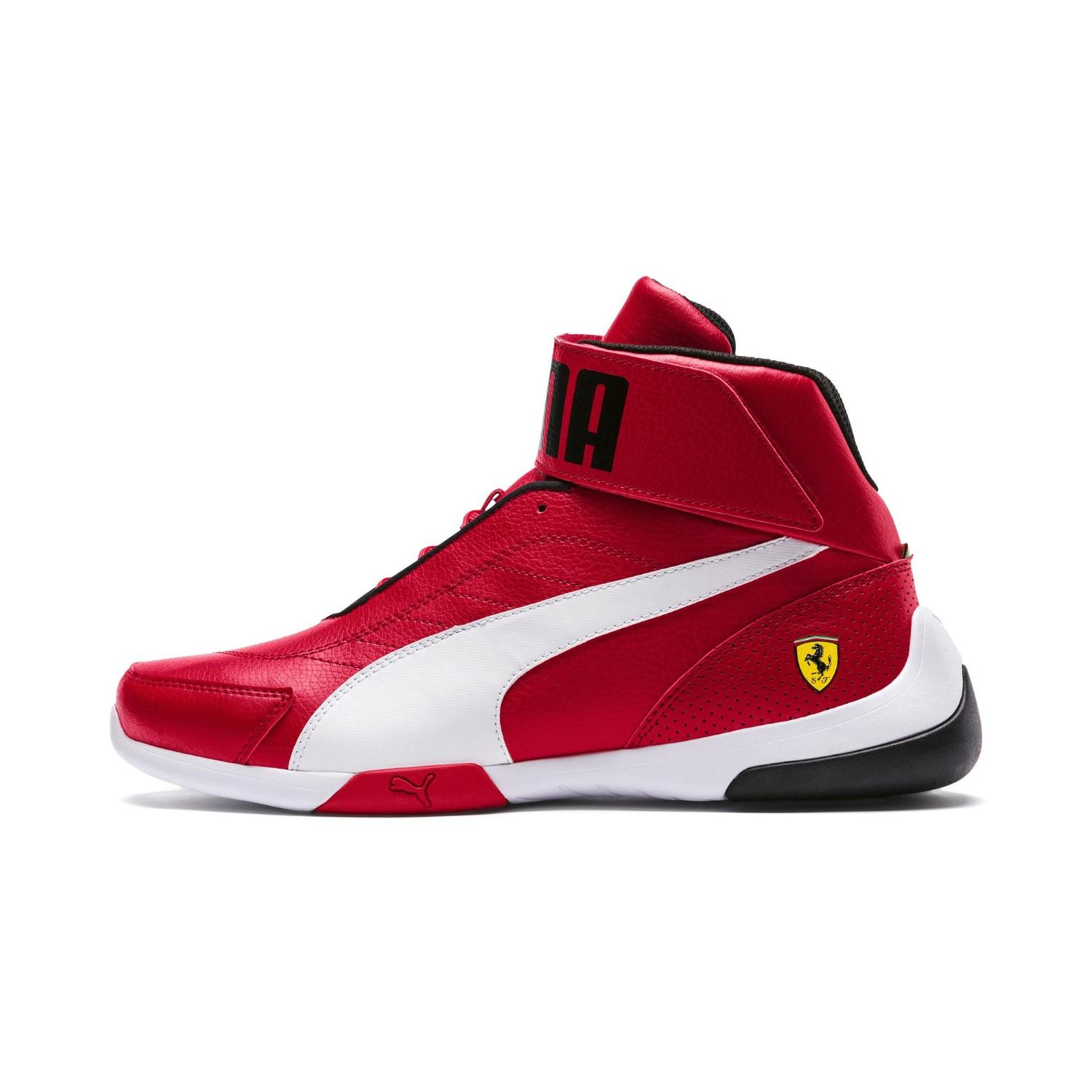 Lyst - PUMA Ferrari Kart Cat Mid Iii High Tops in Red for Men 054fff112