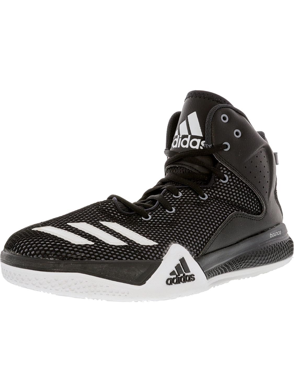 lyst adidas dt bballname metà nucleo nero / ftw bianco grigio scuro caviglia