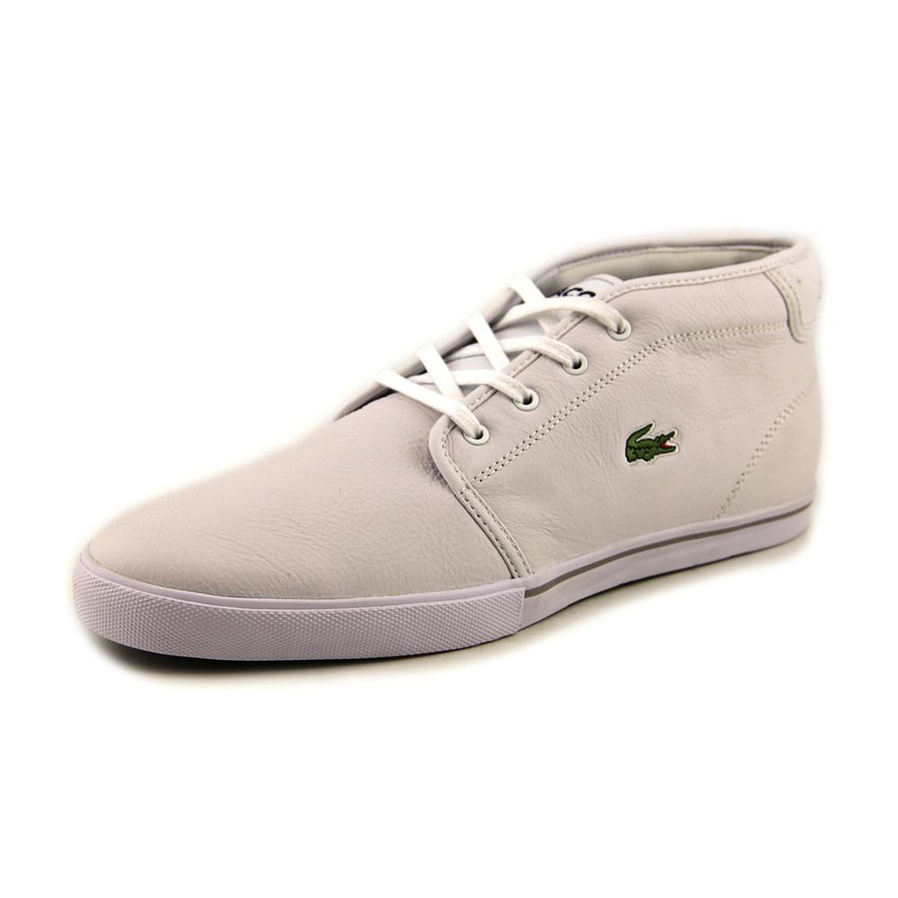 ddb17a6ce85f Lyst - Lacoste Ampthill Lcr White Mens Lace Up Sneakers in White for Men