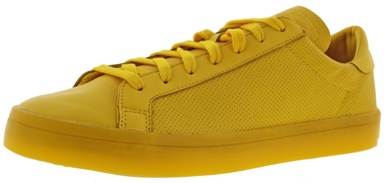 lyst adidas corte vantage monocromatico scarpe scarpe gialle per gli uomini.