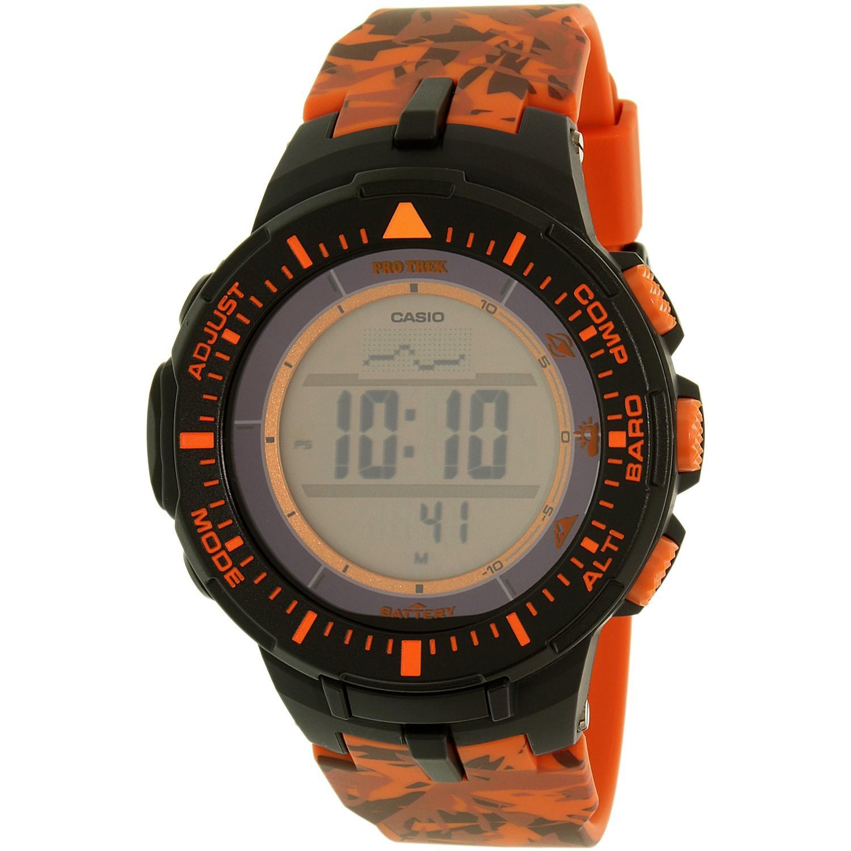 Lyst G Shock Pro Trek Prg300cm 4 Watch In Orange For Men Casio Prg 600yb 3 Mens
