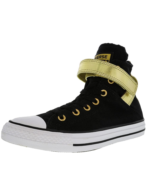 5a32339a35b8 Lyst - Converse All Star Brea High-top Leather Fashion Sneaker - 7m ...