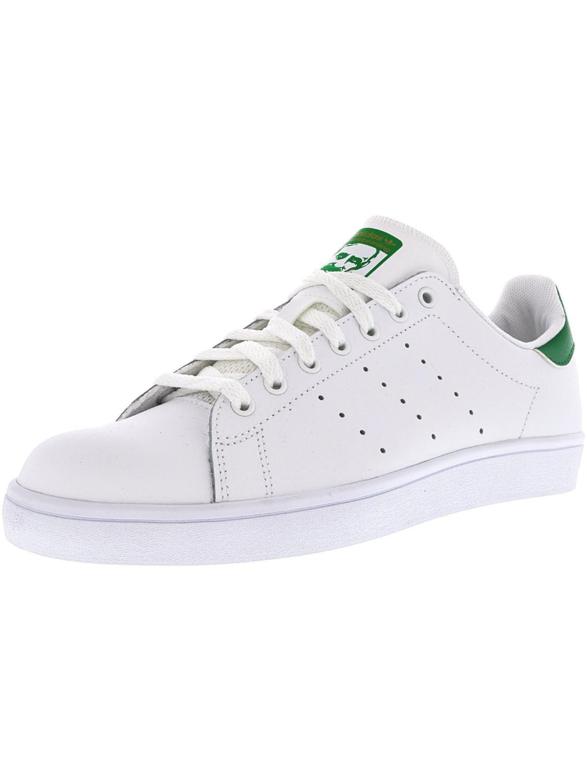 Lyst Adidas Stan Smith Bianco / Verde Caviglia Alta Moda Di Cuoio