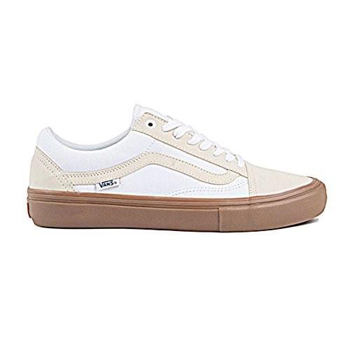 1b6454e605 Vans - White Old Skool Pro Turtledove   Gum Skateboard Shoes-men 11.0 for  Men