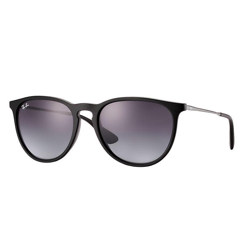 4ce9249bc05526 Ray-Ban. Women s Black Rb4171 Erika Round Sunglasses