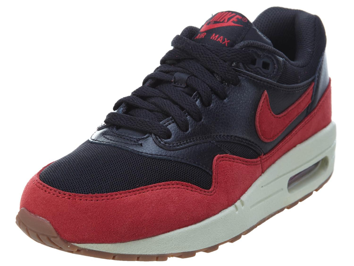 308175bc2e0e ... norway lyst nike air max 1 essential black gym red sail gm md brown  76ad6 aabec