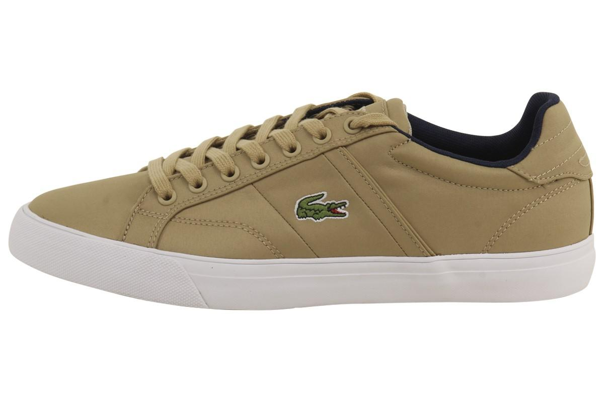 4b216ee64fc291 Lacoste - Fairlead Nylon 316 1 Natural Fashion Sneakers Shoes for Men -  Lyst. View fullscreen