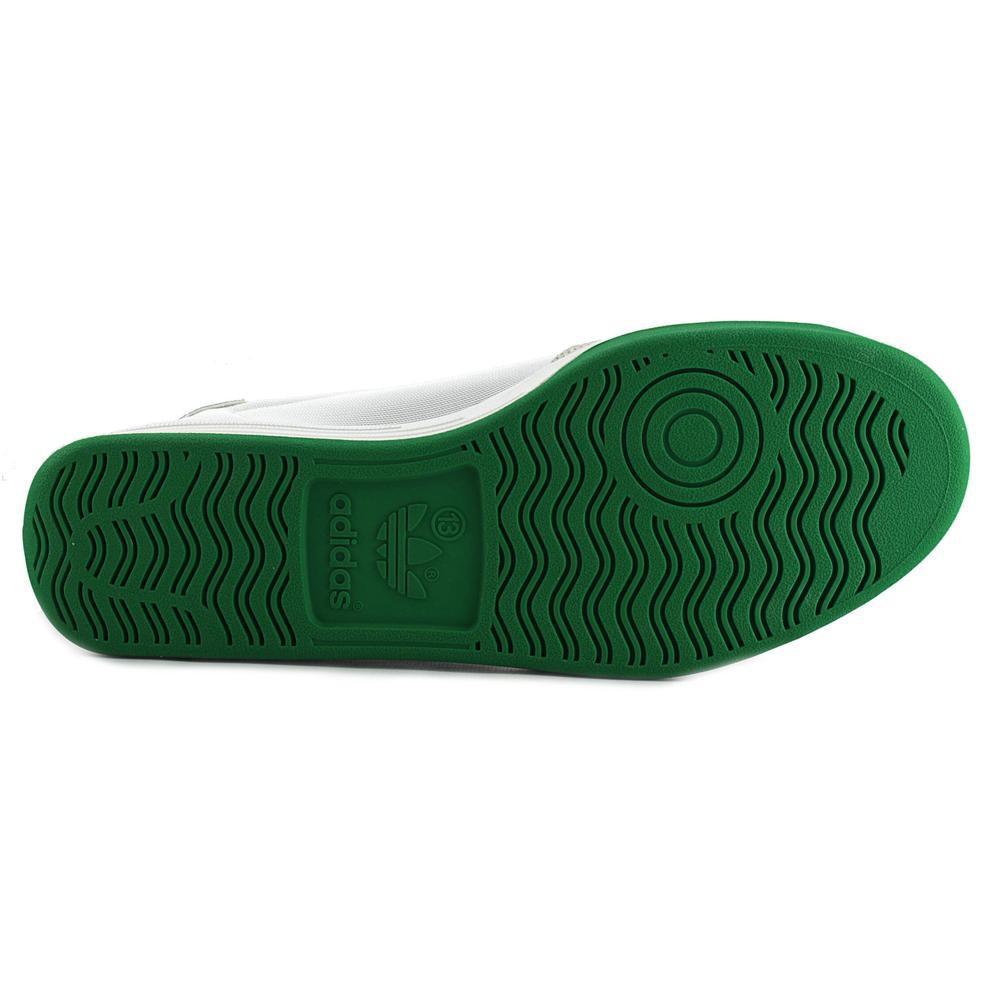 Le alghe lyst adidas super uomini noi bianchi scarpa da tennis in verde