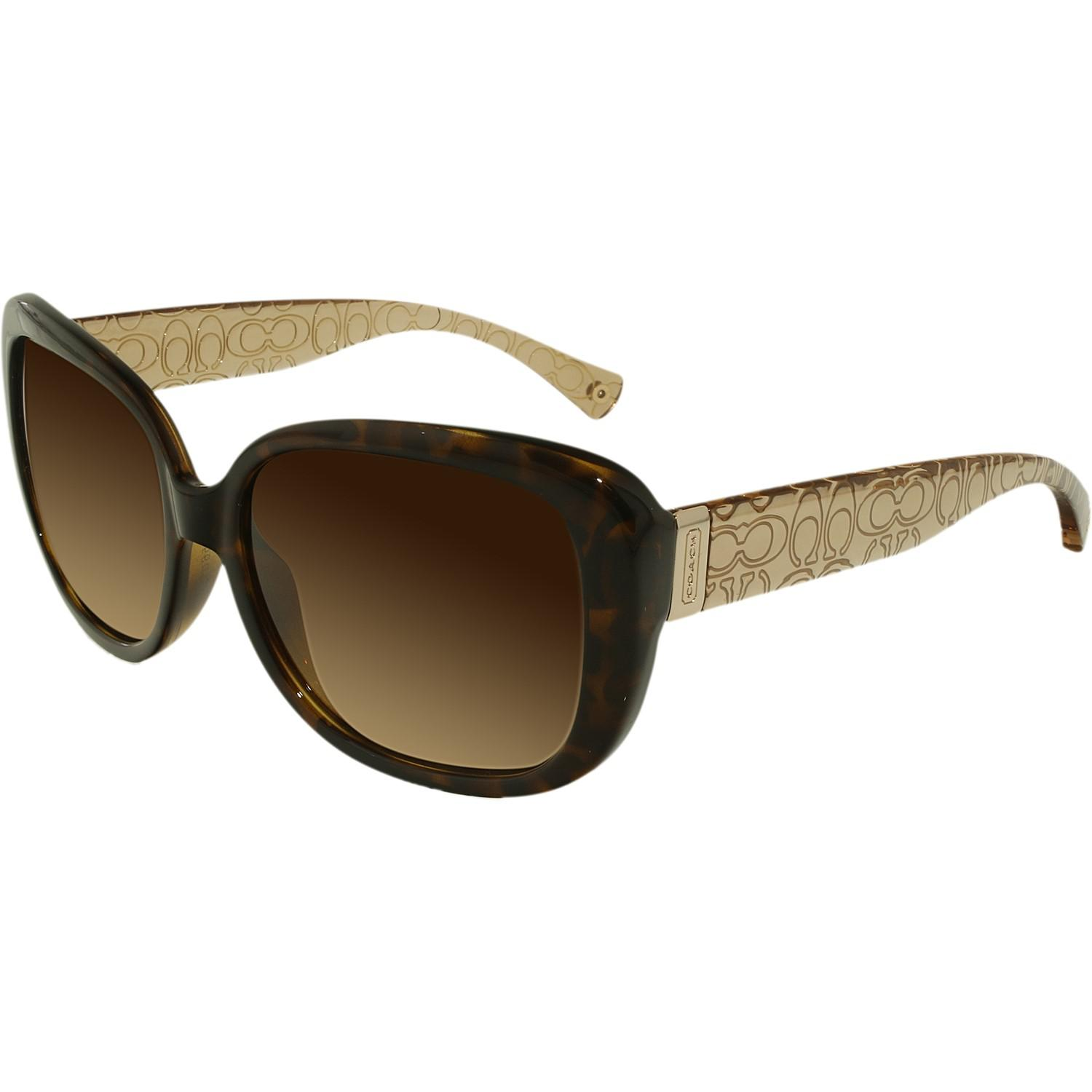 bafc2e4079052 ... coupon code for lyst coach gradient laurin hc8076 515213 56 butterfly  sunglasses b7468 f27d0 ...