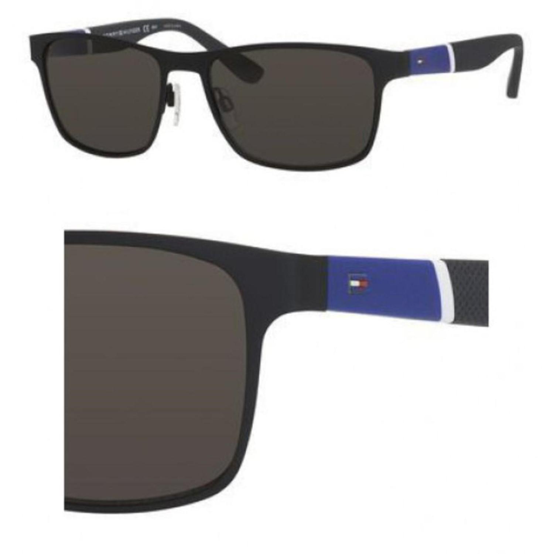 4a58238031 Lyst - Tommy Hilfiger 1283s Fo3 Black Blue White Grey 1283s Wayfarer ...