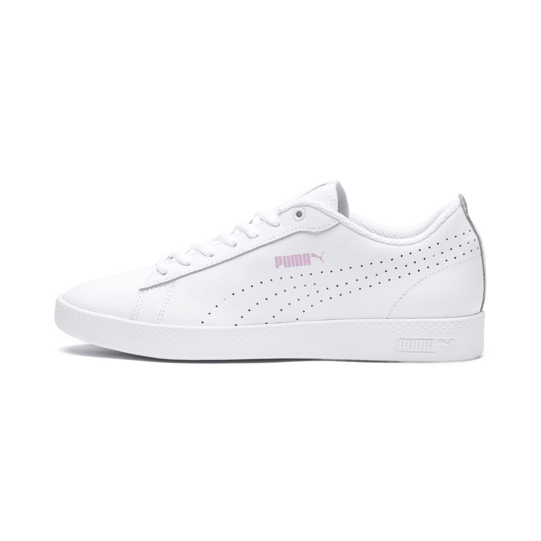 218d8dc84ca PUMA - White Smash V2 L Perf Sneakers - Lyst. View fullscreen