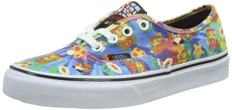 4ba4249b1d64 Lyst - Vans Mens Nintendo Authentic Super Mario Bros tie Dye Sneaker ...