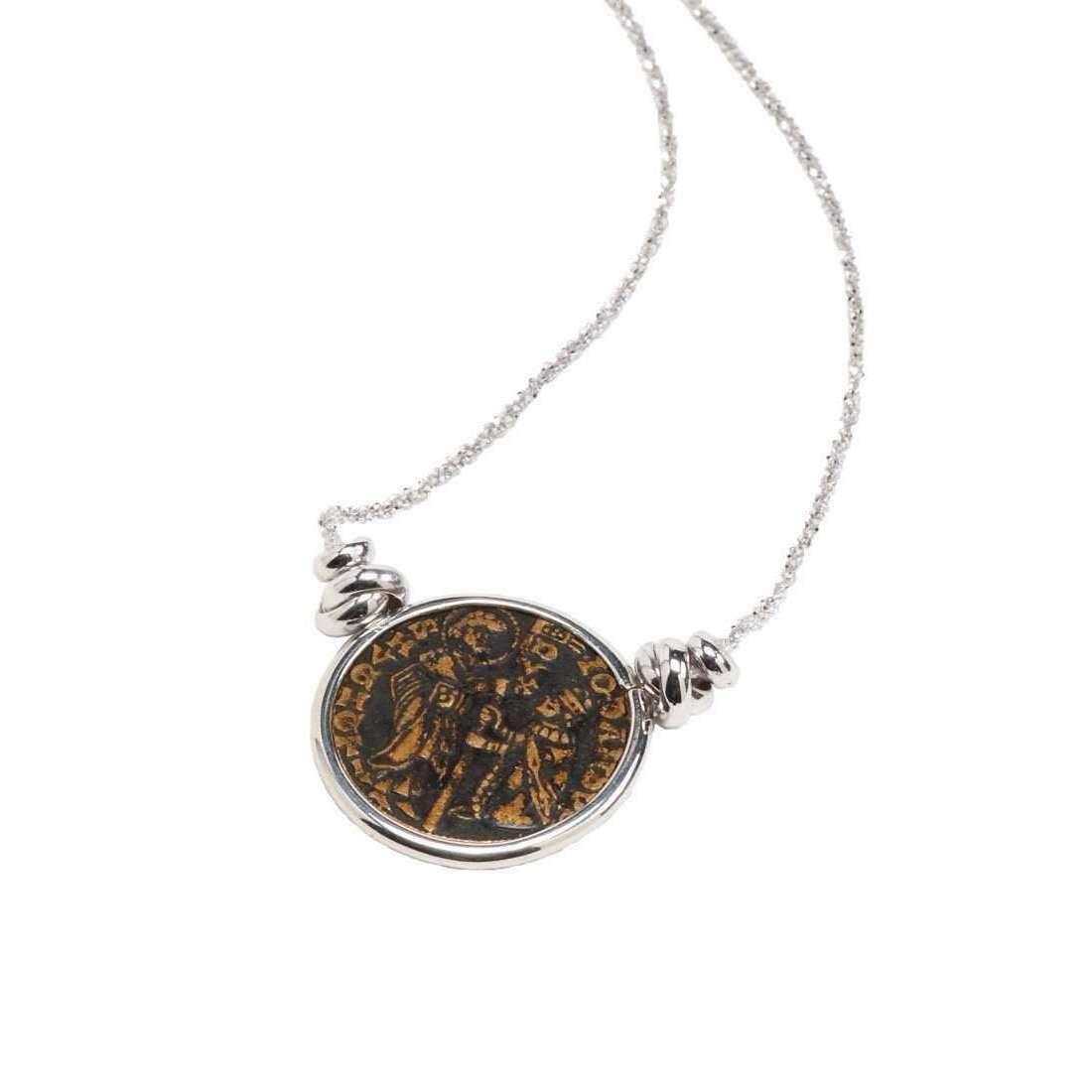 Rina Limor Sunrise Coin Pendant Necklace zURCVI6lB