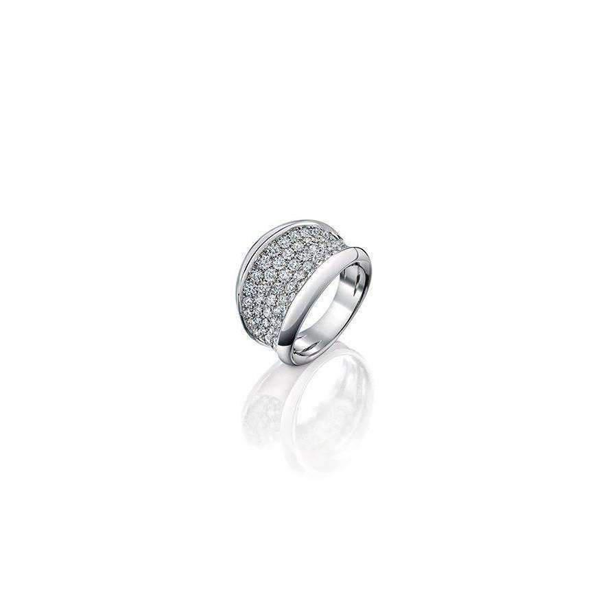 Shakti Ellenwood Trinity 18kt Fairtrade Gold and Diamond Rings - UK U - US 10 1/4 - EU 62 3/4 - White O6citspn