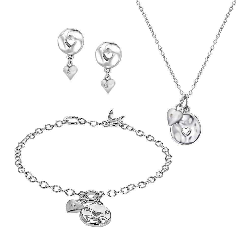 Lily & Lotty Rose Necklace, Bracelet & Earrings Set